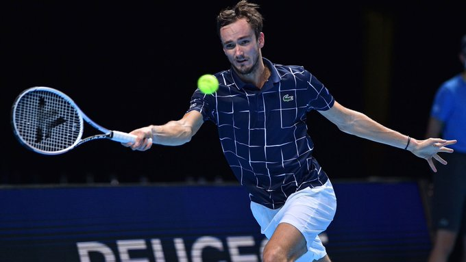 Medvedev Djokovic Nitto ATP Finals 2020