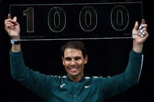 Rafa Nadal 1000 victorias redondas