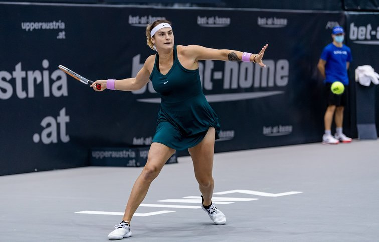 Sabalenka Voegele WTA Linz