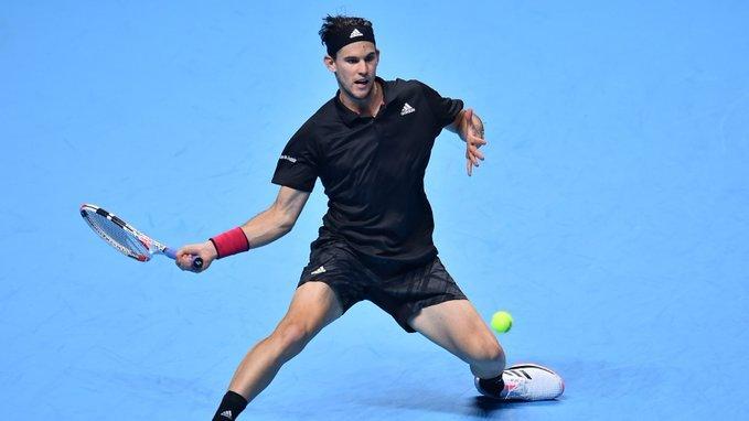 Thiem Djokovic Nitto ATP Finals 2020