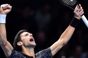 Djokovic media day londres