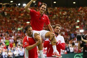 Tenistas de Suiza con más victorias ATP