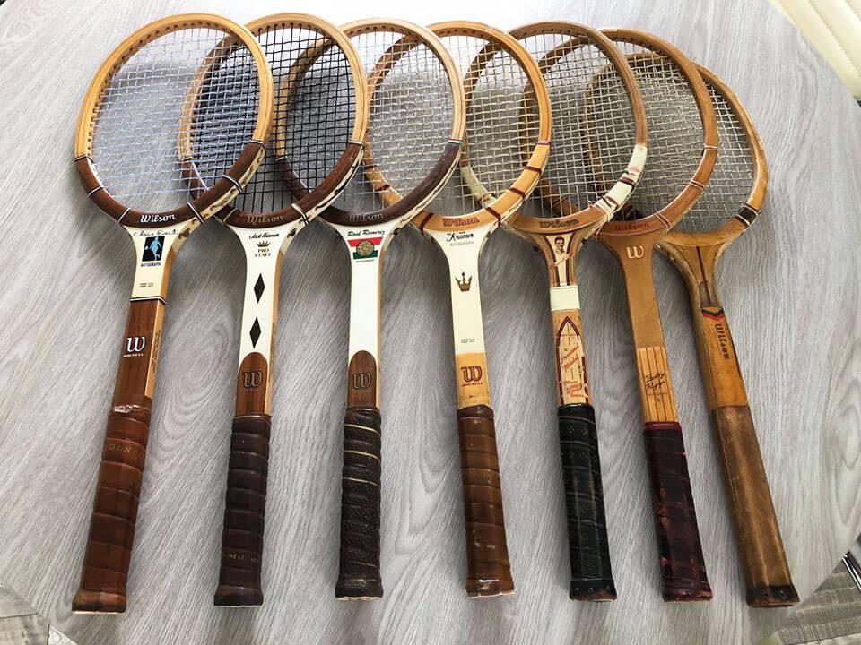 Evolución raquetas de tenis
