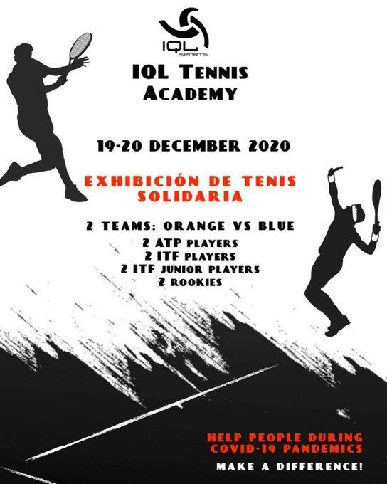 Exhibición IQL tennis Academy
