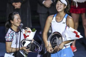 aoyama shibahara campeonas wta abu dhabi 2021