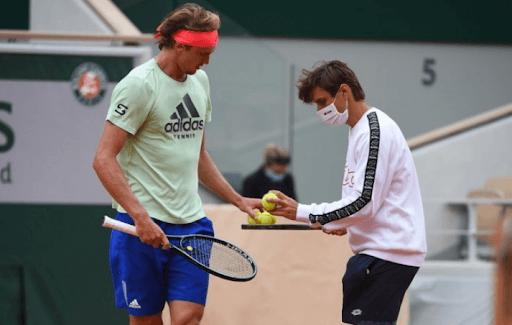 zverev ferrer ruptura tenis