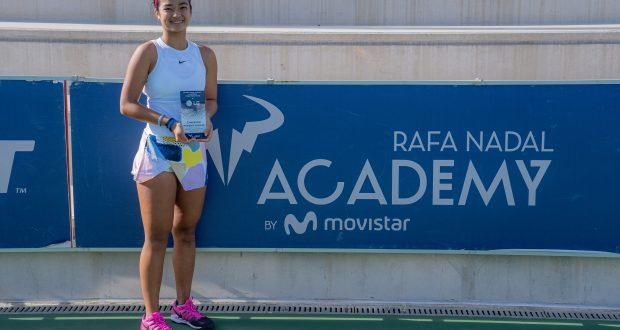 alexandra eala campeona itf w15 manacor 2021