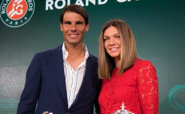 Halep declaraciones Nadal títulos roland garros