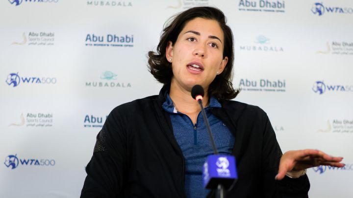Muguruza declaraciones Sasnovich Abu Dhabi