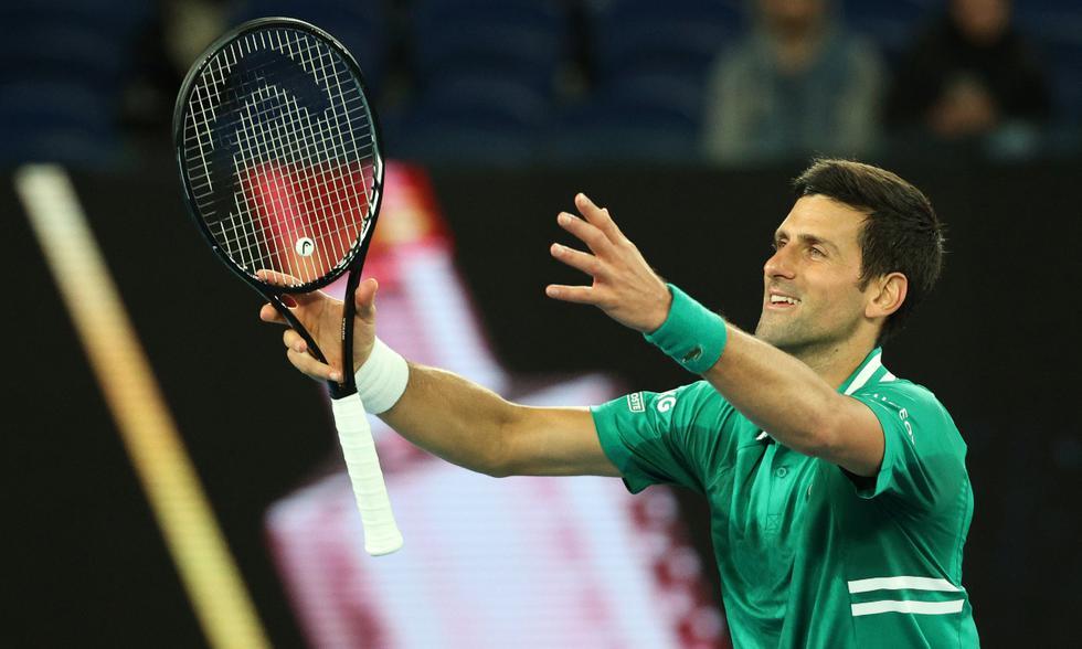 Djokovic lesión Fritz Open Australia 2021