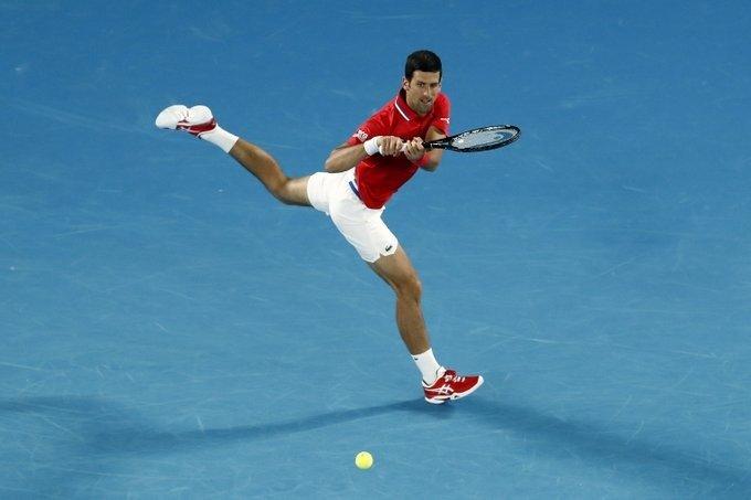 Djokovic Zverev ATP Cup