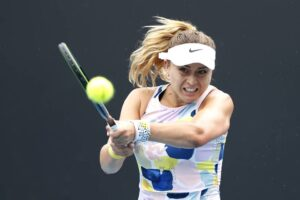 Badosa Samsonova Australian Open 2021