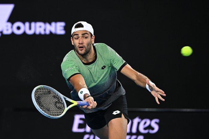 Berrettini Khachanov Open Australia