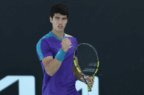 Alcaraz primera ronda open australia