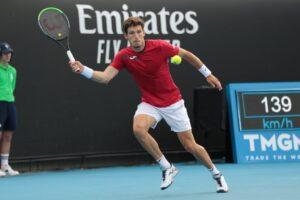 Carreño Dimitrov Australian Open 2021
