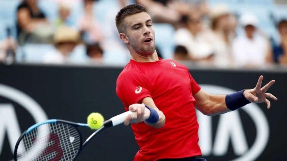 Coric Kyrgios ATP Melbourne 2021