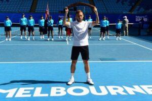 Evans título ATP Melbourne