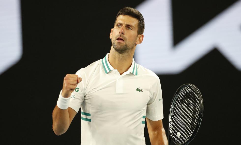 Djokovic finales Grand Slam