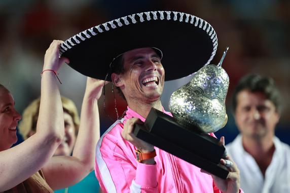 Nadal baja ATP Acapulco