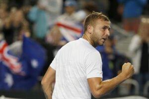 Coric Evans ATP Melbourne 2021