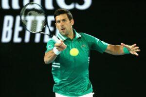 Djokovic Chardy Australia Open 2021
