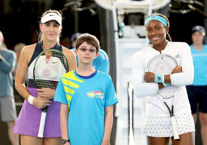 Gauff Bencic WTA Adelaida