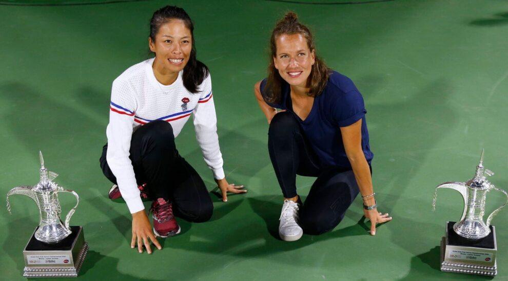 Cuadro dobles femenino Open Australia 2021