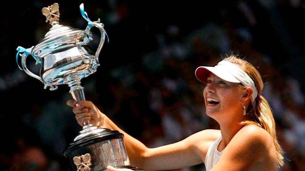 Sharapova título Open Australia