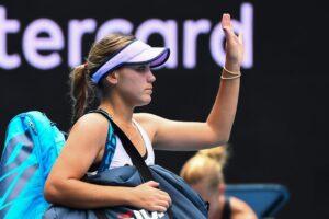 Kenin Gadecki WTA Melbourne 2021