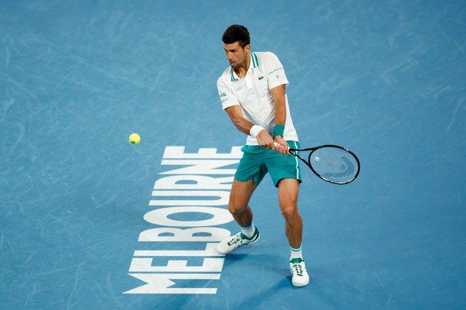Djokovic Raonic Open Australia