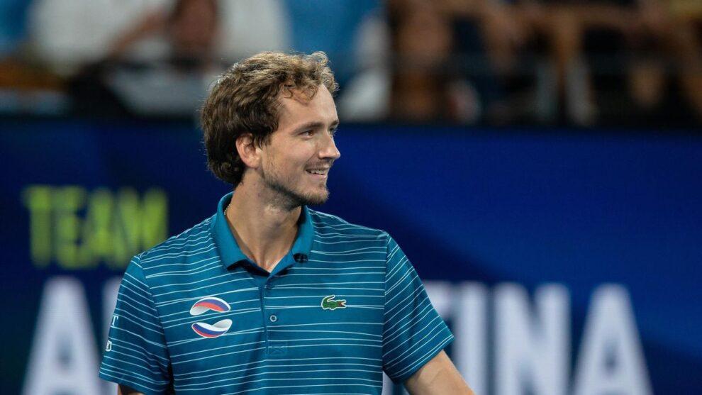 Medvedev Nishikori ATP Cup 2021