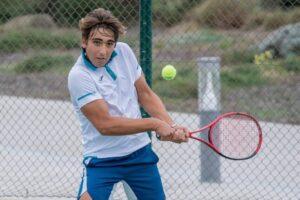 Daniel Mérida promesa tenis