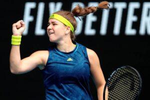 Barty Muchova Australian Open