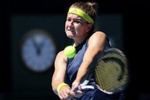 Muchova cuartos Australian Open