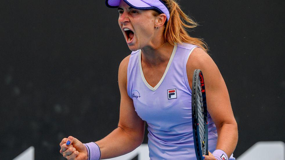 Podoroska Minnen WTA Melbourne 2021