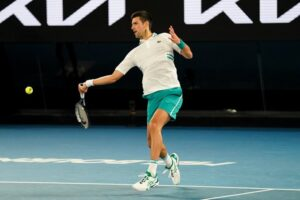 djokovic final open australia