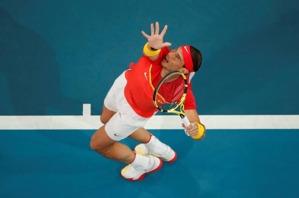 Nadal lesion grecia ATP Cup 2021