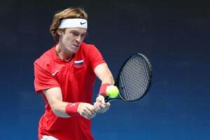 Rublev Struff ATP Cup 2021