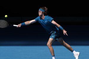 Rublev Hanfmann Australian Open 2021