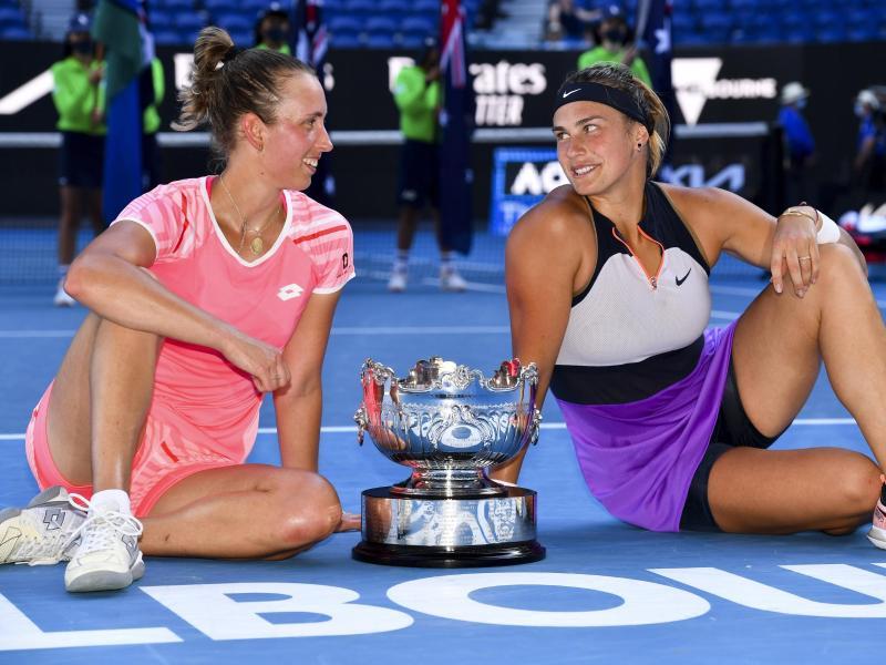 Sabalenka Mertens Campeonas Open Australia 2021