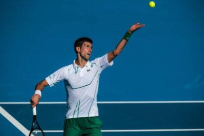 Djokovic servicio open australia