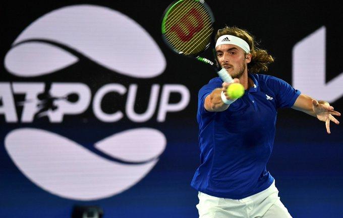 Tsitsipas De Miñaur ATP Cup 2021