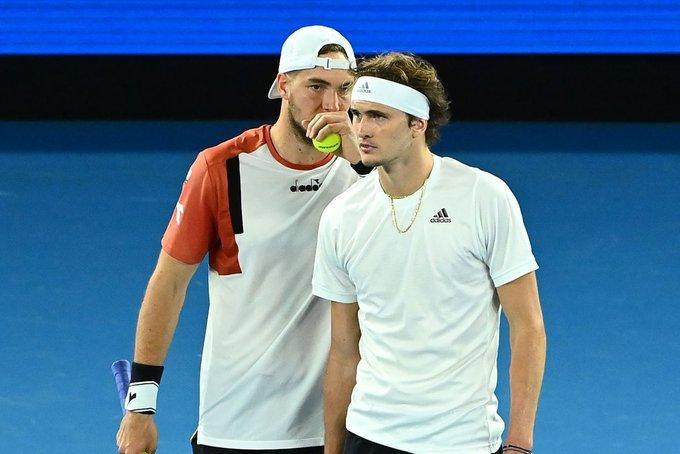 Serbia Alemania dobles ATP Cup 2021