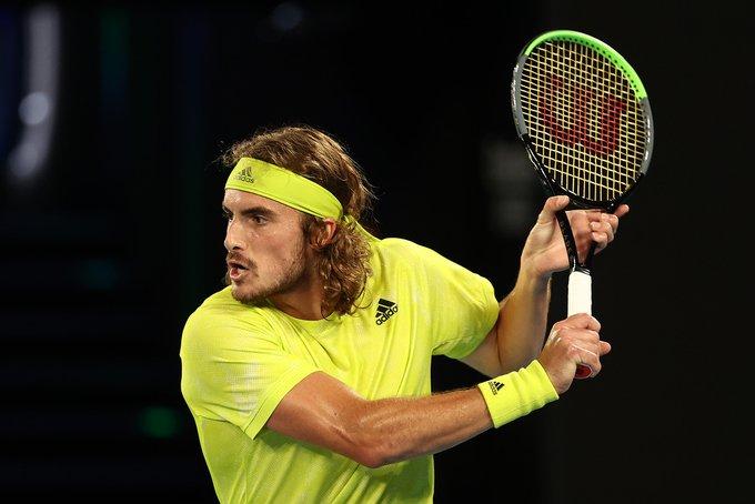 Tsitsipas Simon Open Australia