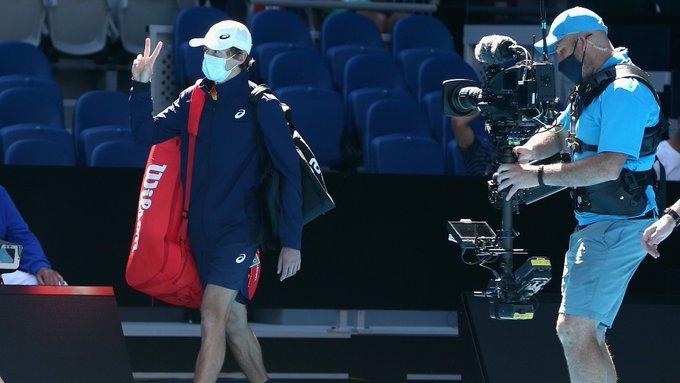 De Miñaur Sandgren Open Australia