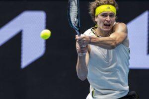 Zverev Mannarino Australian Open 2021