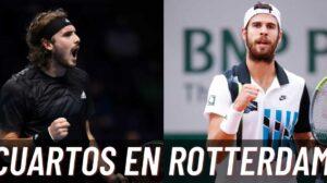 Previa cuartos final ATP Rotterdam