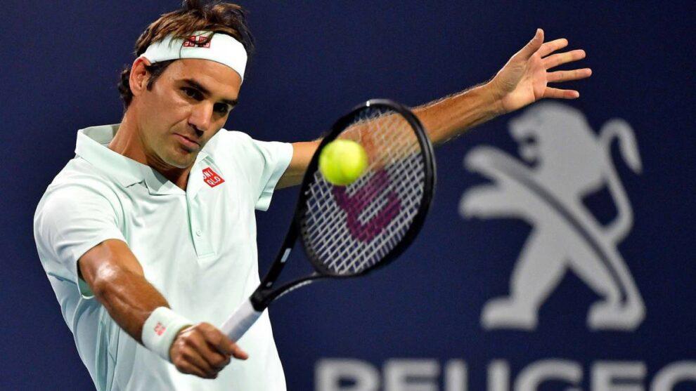 Roger Federer baja Miami Open 2021