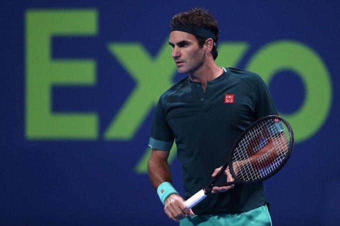 Federer Basilashvili ATP Doha
