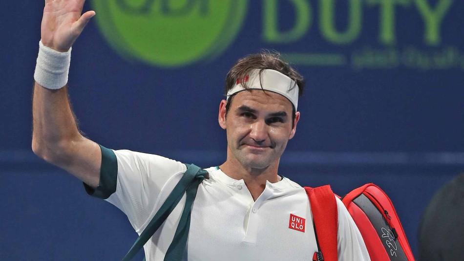 Federer baja ATP Dubai